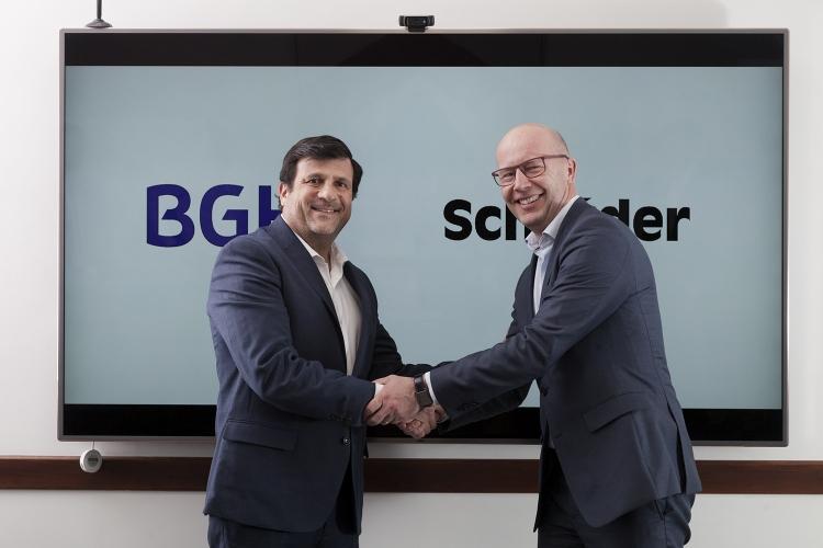 El grupo BGH y Schréder sellan acuerdo comercial