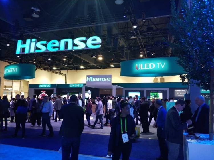 Hisense presentó sus avances tecnológicos durante el CES 2019