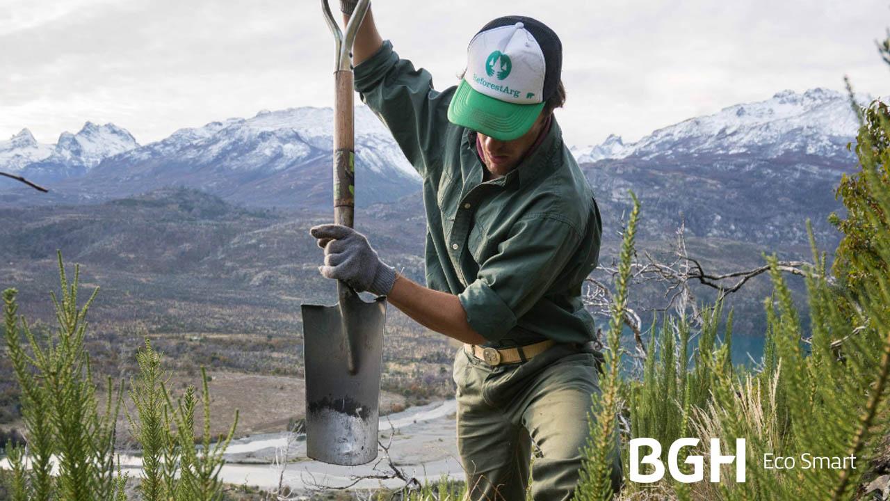 BGH Eco Smart firmó una alianza con ReforestArg